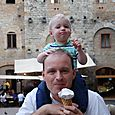 William Discovered Gelato and the words Ice and Cream in Italy July 2010