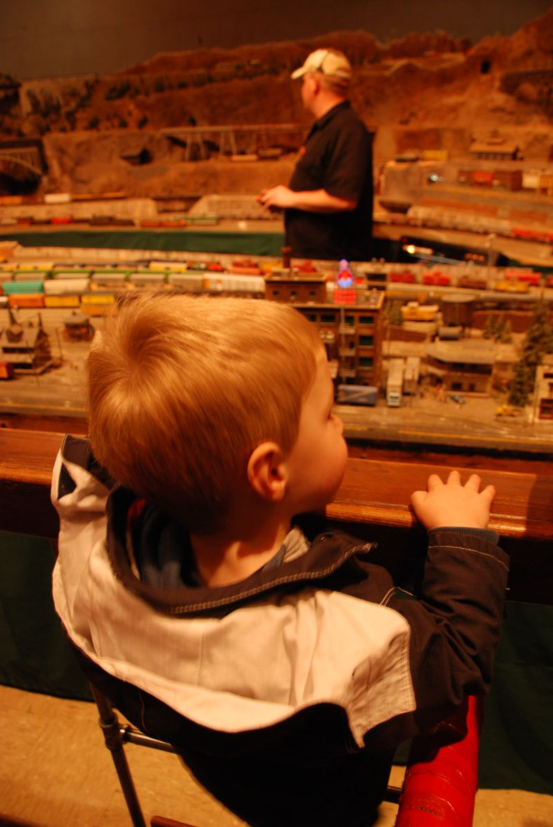 William and the Giant Train Set